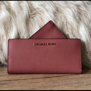 Michael Kors, wallet and cardholder, pink